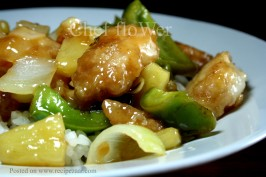Sweet and Sour Fish. Photo by Chef floWer