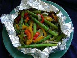 Grilled Asparagus Medley. Photo by kiwidutch