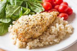 Weight Watchers Parmesan Chicken Cutlets. Photo by anniesnomsblog