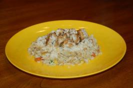"Copycat Kobe Style Fried Rice With "" Shrimp Sauce"". Photo by Queenofcamping"