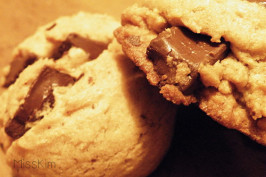 Large Batch Chocolate Chunk (Chocolate Chip) Cookies (Oamc). Photo by TeacherKim