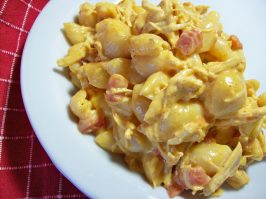 One Dish Spicy Chicken Macaroni and Cheese ( or Ham). Photo by Chef shapeweaver �