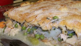 Family Circle's Lean Chicken/Turkey Pot Pie. Photo by Vitameatavegamin Girl