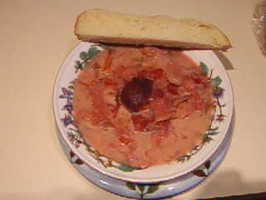 Uncle Bill's Russian/Doukhobour Borscht. Photo by William (Uncle Bill) Anatooskin
