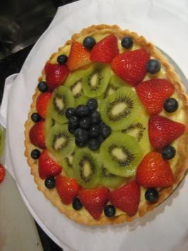 Fresh Fruit Tart. Photo by *-Sabrina-*