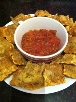 St. Louis Style Toasted Ravioli. Photo by Kelley Maillard