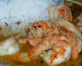 Shrimpin Dippin Broth - Bubba Gump Shrimp Co.. Photo by Baby Kato