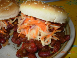 Chipotle Sloppy Joes With Crunchy Coleslaw. Photo by French Tart