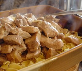 Creamy Pork Stroganoff. Photo by Beautiful BC