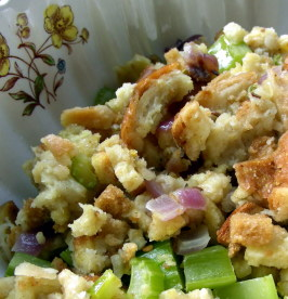 Bread Stuffing - Nothing Compares With This!. Photo by Andi of Longmeadow Farm