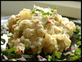 Creamy Potato Salad. Photo by Sackville