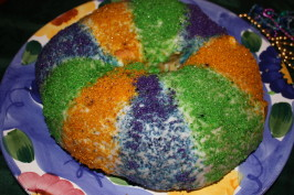 King Cake Traditional New Orleans Recipe. Photo by happy2bme_9_8206787