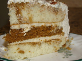 Tiramisu Layer Cake. Photo by LB in Middle Georgia