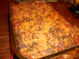 Fast Hamburger Casserole With a Mexican Twist. Photo by linguinelisa