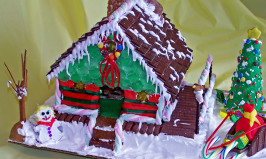 "My First Gingerbread House  ""2006"". Photo by Rita~"