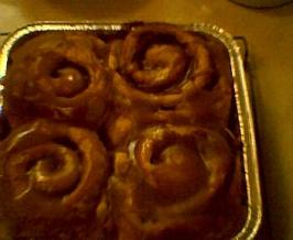 Sweet Potato Cinnamon Rolls. Photo by Chef #492257