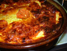 French Tian D' Aubergines - Gratin of Aubergines/Eggplant. Photo by French Tart