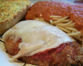 Sandra's Chicken Parmigiana. Photo by Crafty Lady 13