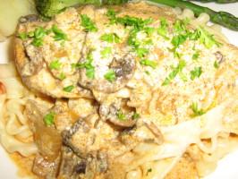Chicken Paprika (Csirke Paprikash). Photo by I'mPat