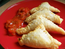 Cheesy Taco Pockets. Photo by * Pamela *