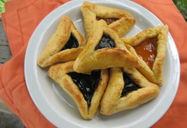 Gluten-Free Hamantaschen - Sugar-Free [ Purim Cookies ]. Photo by What's Cooking?