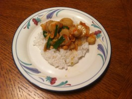 Chinese Take-Out Kung Pao Chicken. Photo by h8windows