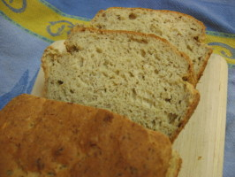 Gluten-Free Multigrain Miracle Bread. Photo by What's Cooking?