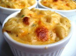 Creamy Macaroni & Cheese - for Two or One. Photo by gailanng