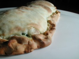 Spinach and Ricotta Calzone. Photo by Chef floWer
