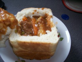 Bunny Chow and Its Durban Curry. Photo by Keltria