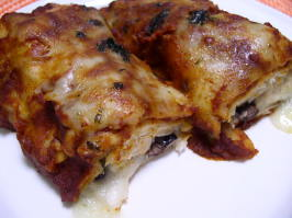 Chicken & Black Bean Enchiladas. Photo by Bayhill