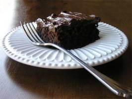 Gluten Free Chocolate Cake. Photo by Gluten Free Mommy
