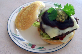Smokin' Hot, Sassy, Saucy  Southern Burgers With Attitude!. Photo by ColCadsMom