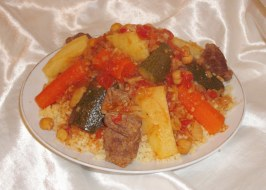 Traditional North African Couscous (The Real Way!). Photo by Um Safia