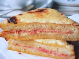 The Classic French Bistro Sandwich - Croque Monsieur. Photo by French Tart