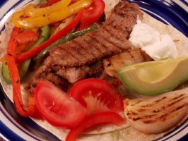 Fajitas - Arrachera - Grilled Skirt Steak. Photo by Lavender Lynn