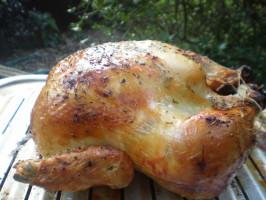 Poulet Rôti  (Roast Chicken). Photo by breezermom