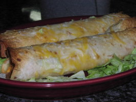 Chicken Chimi Chimies ( Chimichangas ). Photo by TeresaS