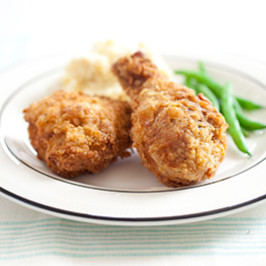 Crispy Fried Chicken (America's Test Kitchen). Photo by sachikoW
