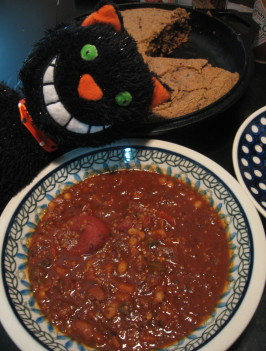 Andrew's Protein-Packed Vegan Chili. Photo by Engrossed