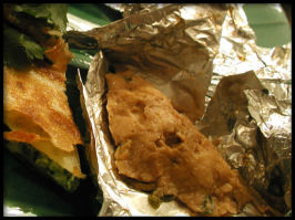 Foil Wrapped Chicken - Baked or Fried. Photo by Sandi (From CA)