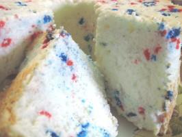 Celebration Angel Food Cake. Photo by Charlotte J