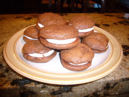 Whoopie Pies With 7 Minute Frosting. Photo by Cupcake-Princess