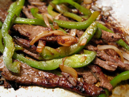 Good Eats Skirt Steak (Marinade) - Great for Fajitas!. Photo by Caroline Cooks