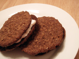 Little Debbie Oatmeal Cream Pie. Photo by CandyTX