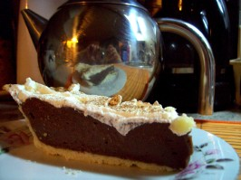 Hershey's Hotel Chocolate Cream Pie. Photo by Marlitt