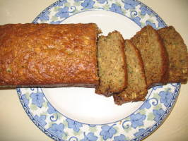 Healthy Low-Fat Banana Zucchini Bread. Photo by Chef #1023761