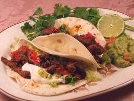 Kerry Simon's Addictive Soft Steak Tacos (Fajitas). Photo by Lavender Lynn