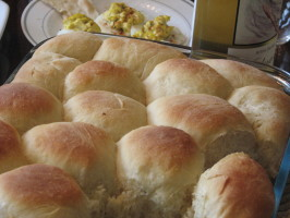 Light and Easy Dinner Rolls. Photo by Bonnie G #2