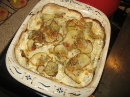 Classic Pommes Boulangère - French Gratin Potatoes. Photo by Acadia*